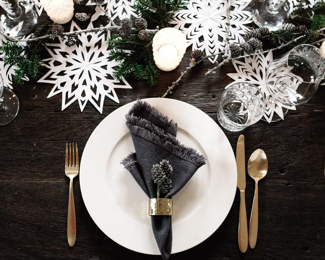 ina stil inastil Tischdekoration Weihnachten Weihnachtsessen Weihnachtssterne Festessen Dekoration christmastime WeihnachtszeitDSCF0841