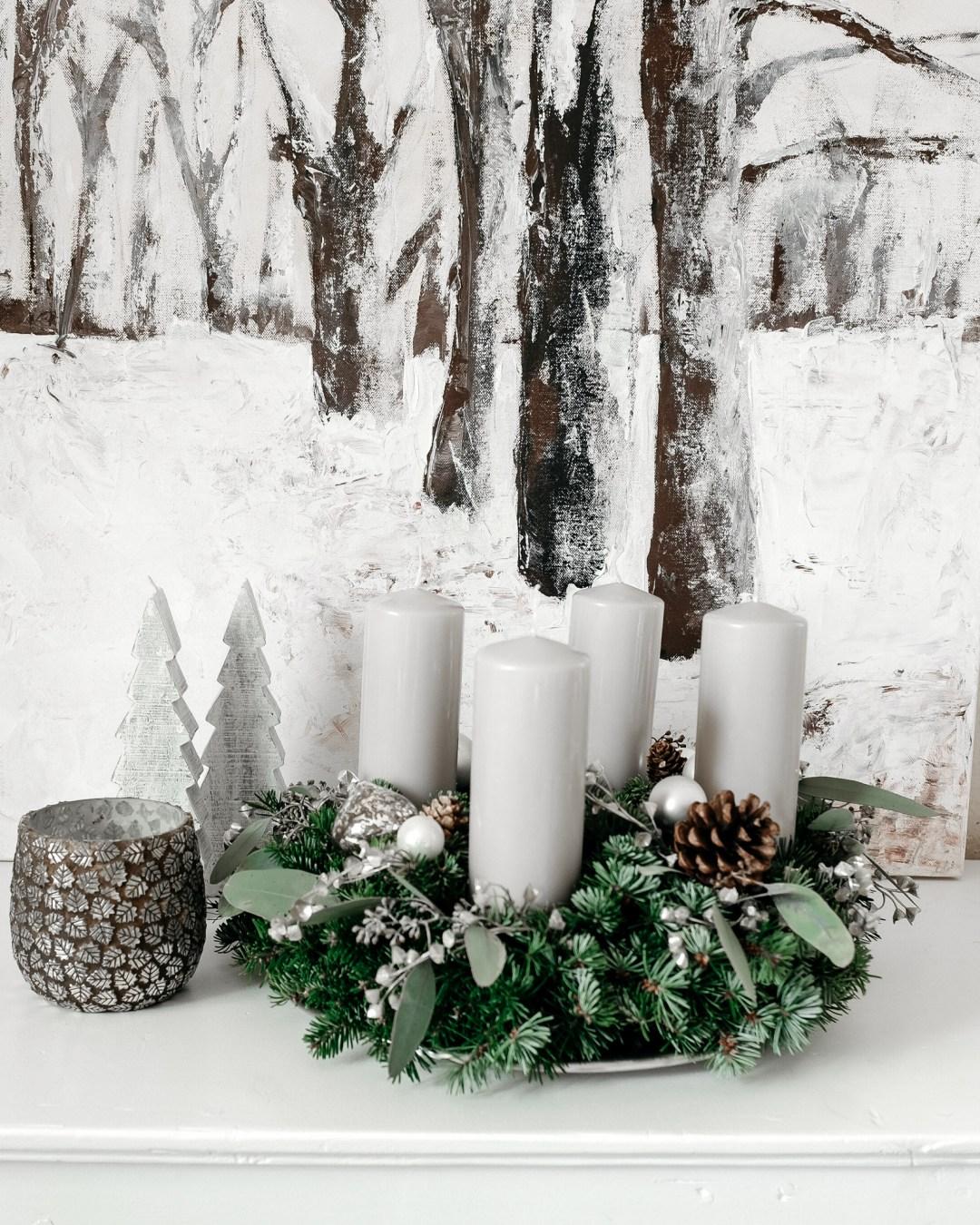 ina stil inastil advent keksebacken garten schnee adventkranz weihnachtsdekoration inspiration kerzen eukalyptus winterzauber winterwonderland christmastime weihnachtszeitDSCF0705