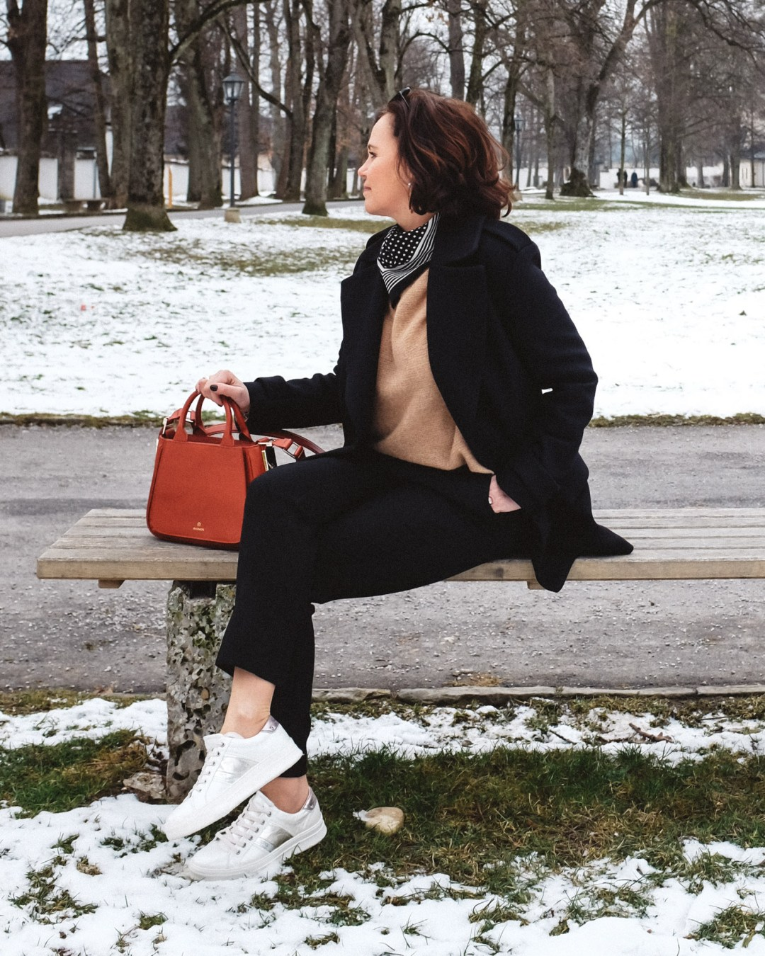 inastil, Ü50Blogger, Modeberatung, Stilberatung, Ü50Mode, Styleover50, Cabanjacke, Aignertasche, weisse Sneaker, Casualstyle, Streetstyle-6
