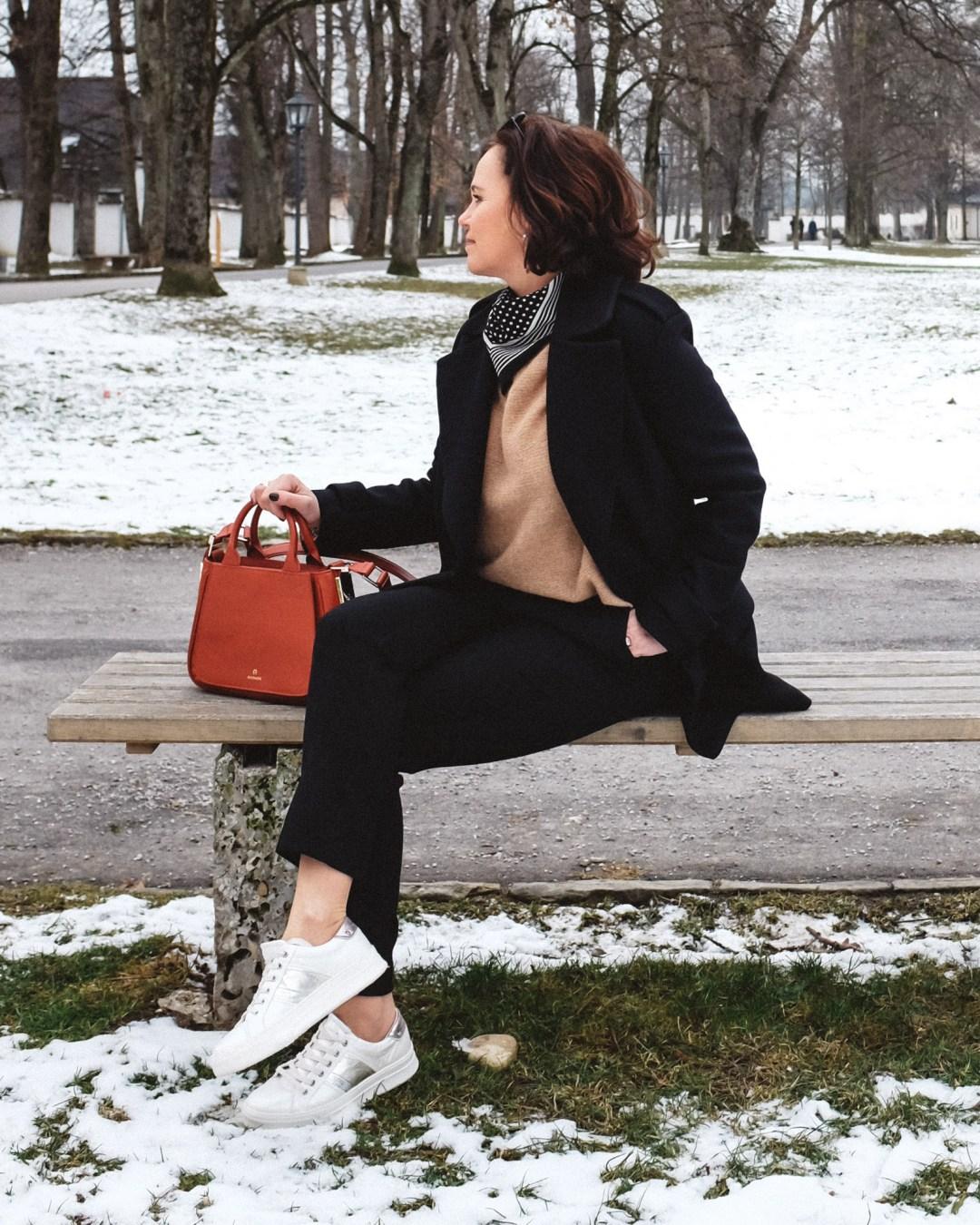 inastil, Ü50Blogger, Modeberatung, Stilberatung, Ü50Mode, Styleover50, Cabanjacke, Aignertasche, weisse Sneaker, Casualstyle, Streetstyle-6