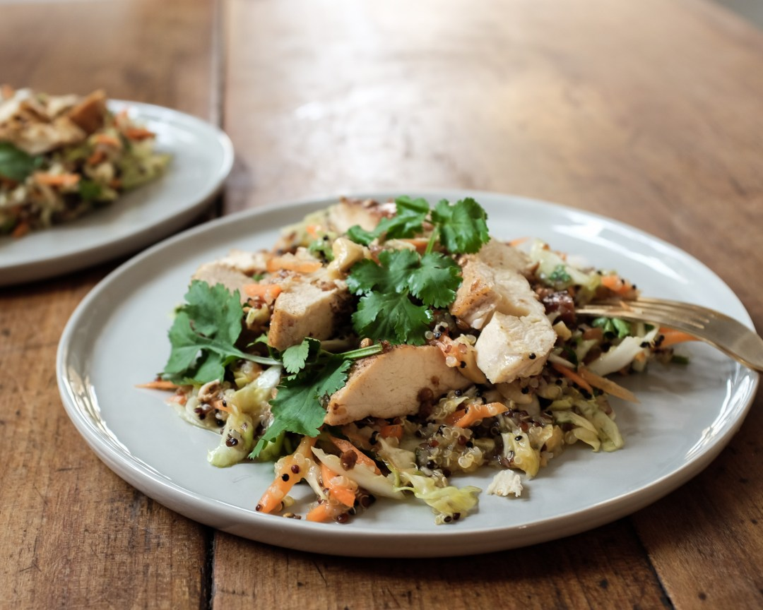 inastil, Ü50Blogger, Rezept, orientalischer Quinoasalat mit Hühnchen, lowcarb, leichte Rezepte, Mittagessen,_-7