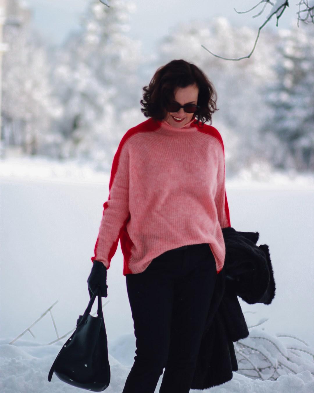 inastil, fashion, Wntermode, Leopoldskron, Salzburg, livingcoral, pantone, rosen, rosa, Pullover, Ü50Mode, ageless, ü50blogger,_-12