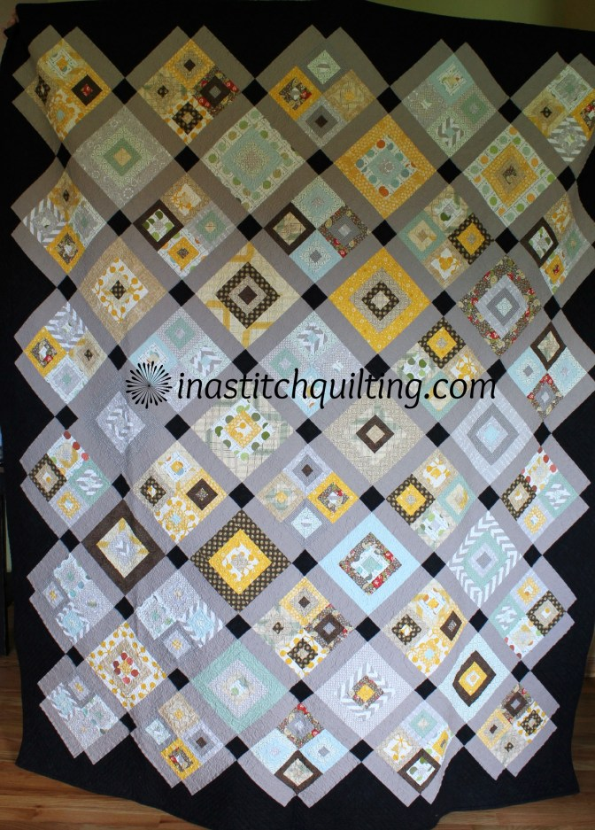 Four Score Quilt - Stitched and Quilted by Cindy Anderson of In A Stitch Quilting