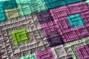 Jennys Quilt w Geometric Stitching