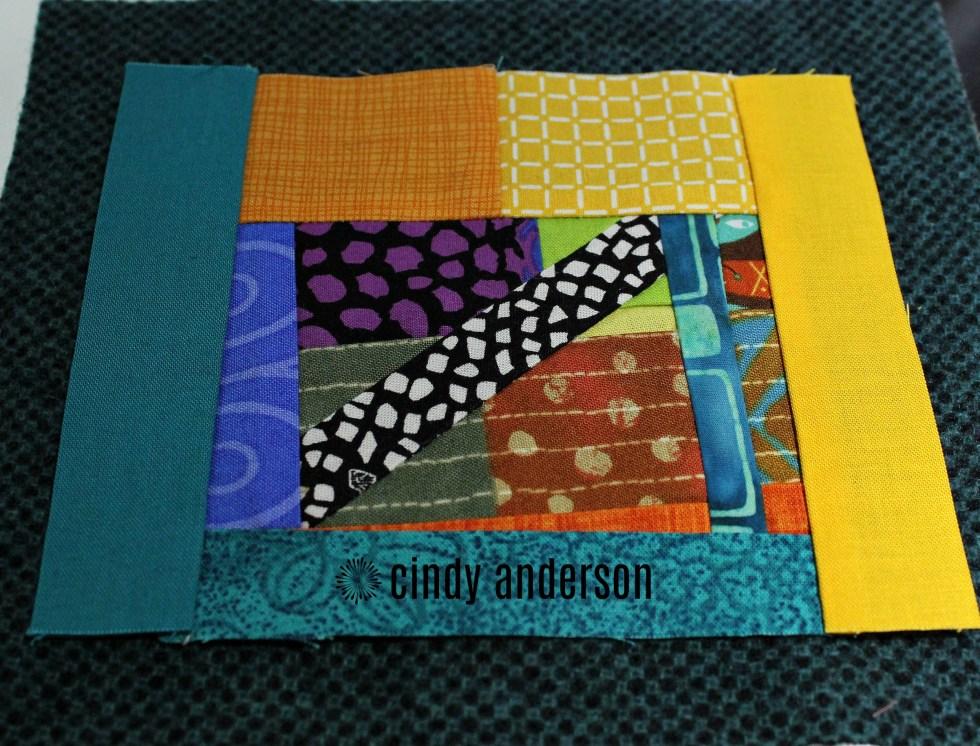 Art Quilt # 24_ Multi-Cultural