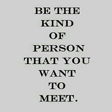 Be The Kind