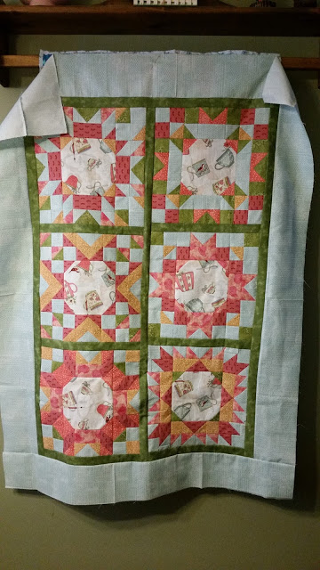 Edit's Beautiful Mystery QAL Quilt Top
