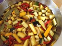 Zucchinischwämme - Einlegen hilft ;-)
