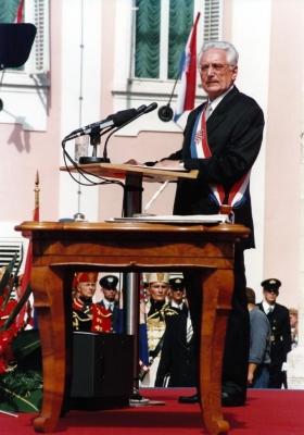 Franjo TUdjman  Photo: www.tudjman.hr