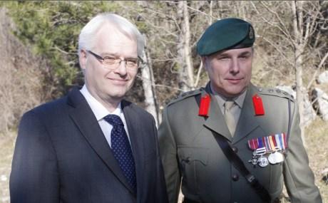 Ivo Josipovic and Mark Nicholas Gray  Photo: tportal.hr
