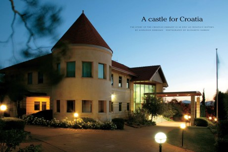 The Embassy of the Republic of Croatia in Australia - a gift from Croatians living in Australia to Croatia