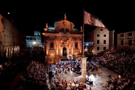 Dubrovnik Summer Festival - opera at St Blaise church