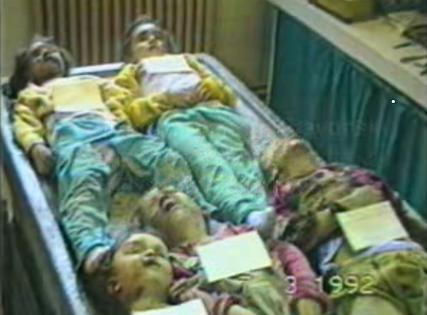 Croatia Slavonski Brod 1992 Children were killed brutally