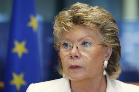 Viviane Reding, European Commissioner for justice, fundamental rights  and citizenship   Photo: Reuters