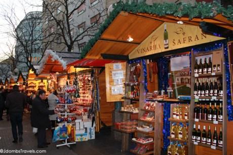 Advent markets in Zagreb, Croatia
