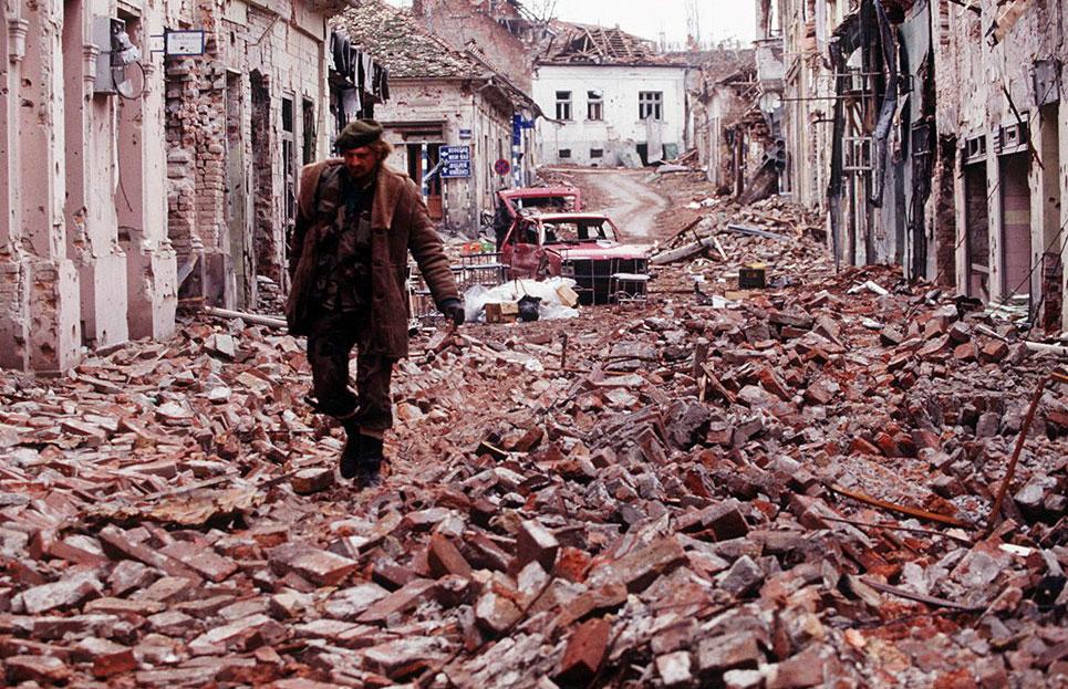 Image of Croatian War, Former Yugoslavia