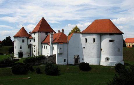 Old Town castle Varazdin Croatia