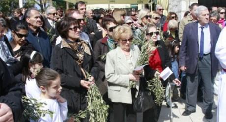 Palm Sunday 2014 Sibenik Croatia