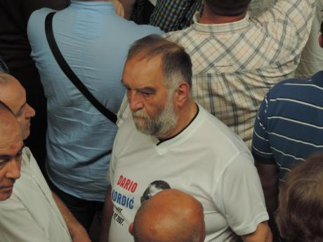 Dr Slobodan Lang at Zagreb Airport 6 June 2014 (Photo: Marija Tomislava)