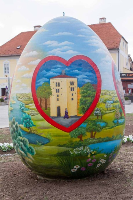 Croatia 2015 Easter egg
