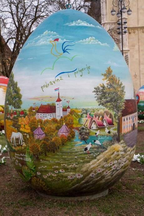 Giant Easter Egg 2015 Croatia detail