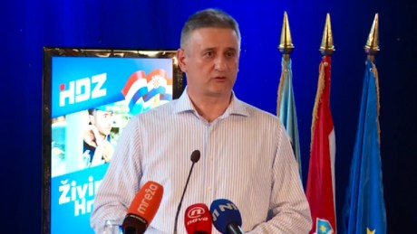 Tomislav Karamarko Leader of HDZ Croatian Democratic Union