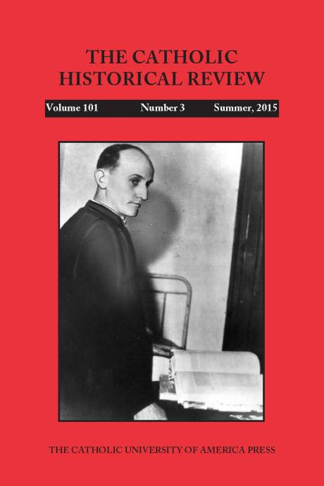 Blessed Aloysius Stepinac Front Cover Catholic Histoprical Review Summer 2015 Edition Catholic University of America Press