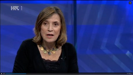 Dr Esther Gitman Screenshot 24 November 2015 Croatian HRT TV