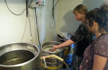 The humble beginnings of BRLOG beer brewing Photo: Facebook