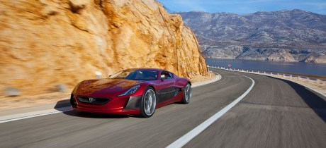Rimac Concept One Electric Supercar from Croatia