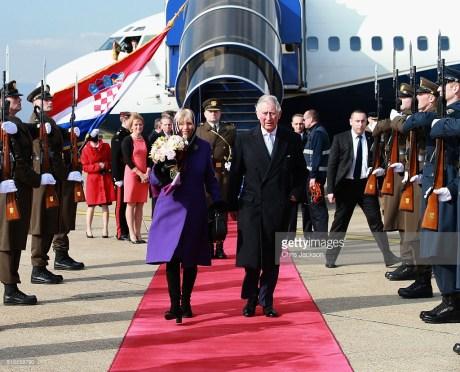 Prince Charles and Camilla visit Croatia 14 March 2016