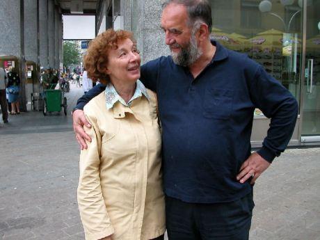 Dr Slobodan Lang and his wife Nada 2006 Photo: blog.dnevnik.hr
