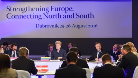 Lithuanian President Dalia Grybauskaite at Dubrovnik Forum Photo: Visegradpost.com