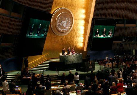 UN General Assembly 28 October 2016 Photo: Reuters/Brenden McDermid