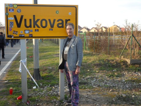 Connor Vlakancic at Vukovar November 2016 Photo: Connor Vlakancic