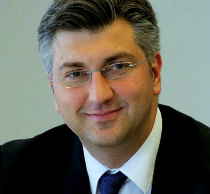 Croatia's Prime Minister Andrej Plenkovic Photo:www,andrejplenkovic.hr