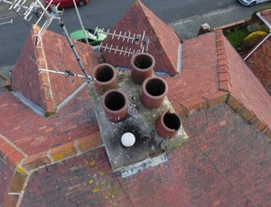 Using Aerial Photography for roof inspection
