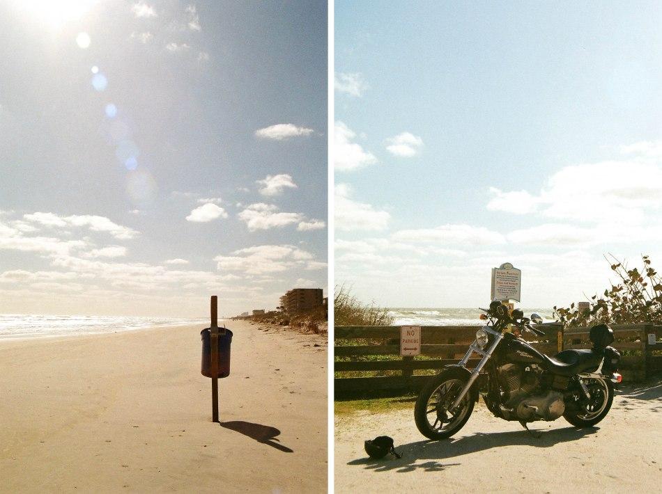 beach and bike