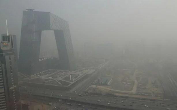 peking föroreningar