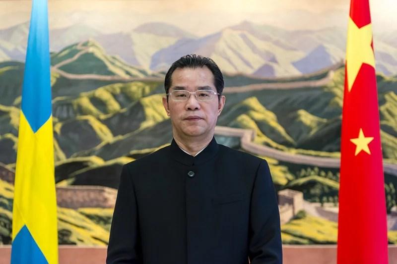 Kinas ambassad attackerar Expressen och mig på sin hemsida