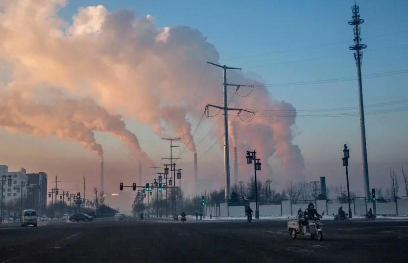 Kina kan bygga upp till 500 nya kolkraftverk innan år 2030