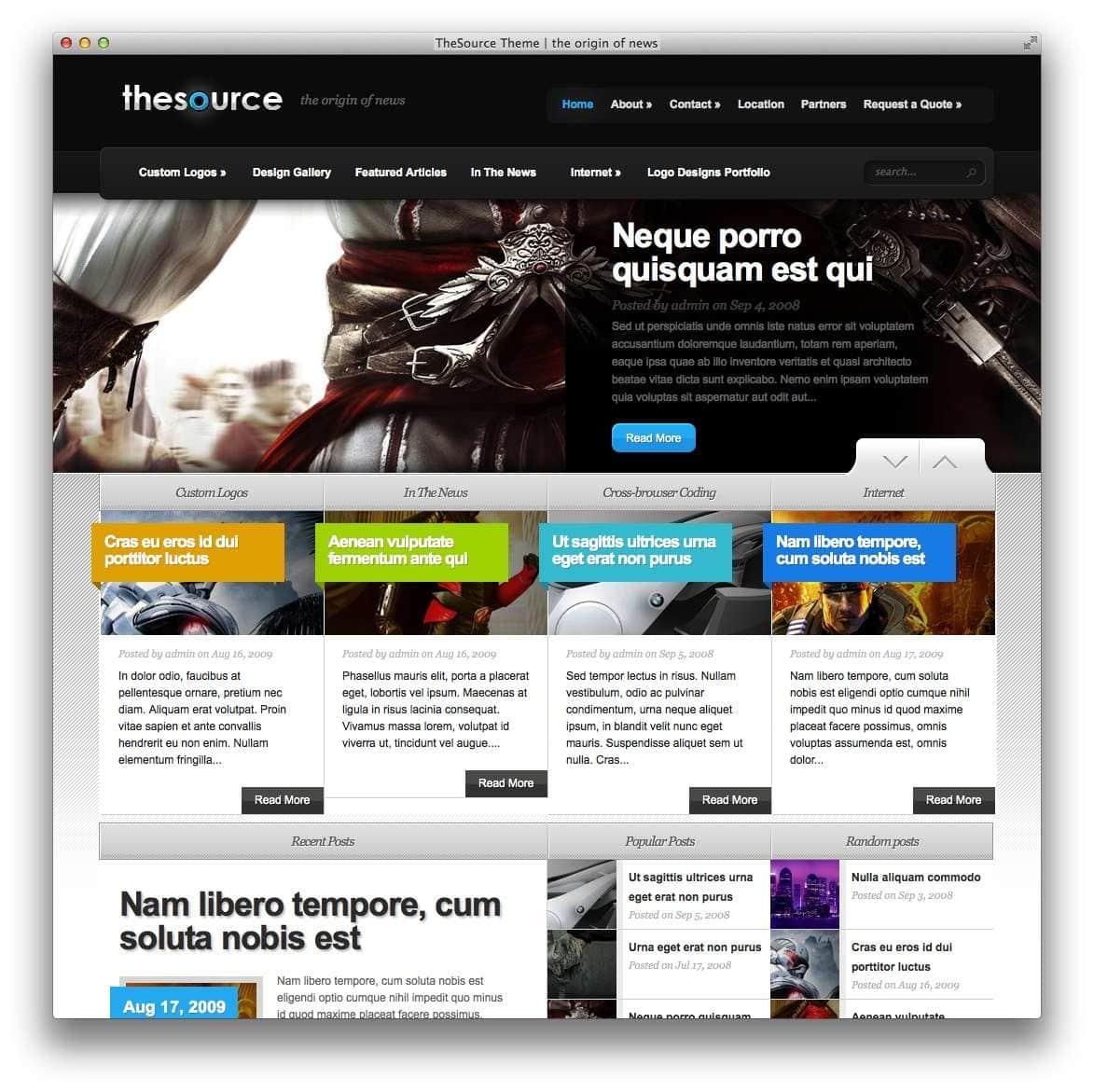 Умные WordPress шаблоны для геймеров6