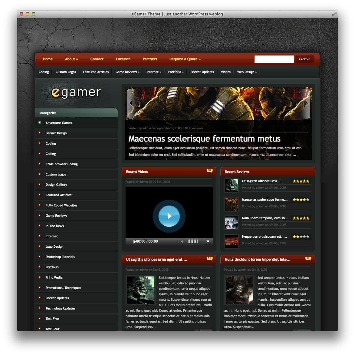 Умные WordPress шаблоны для геймеров7
