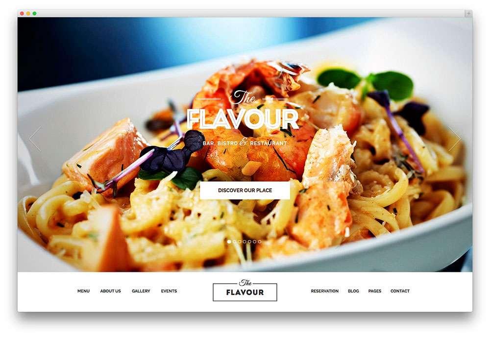 кулинарные темы WordPress 3