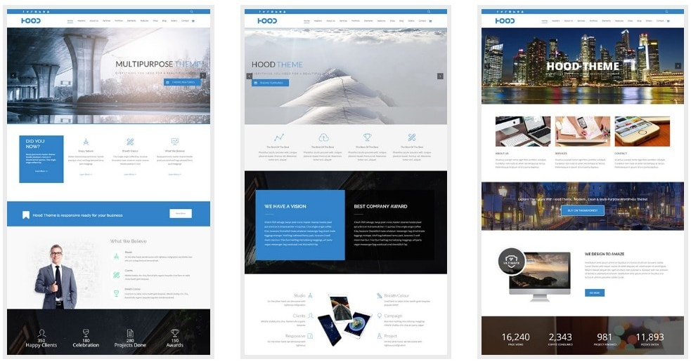 лучшие минималистские темы WordPress для бизнеса и блогов 2 03