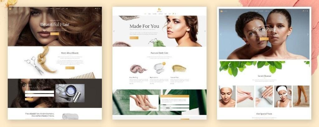 шаблоны WordPress для салона красоты и СПА (SPA & Beauty) 03