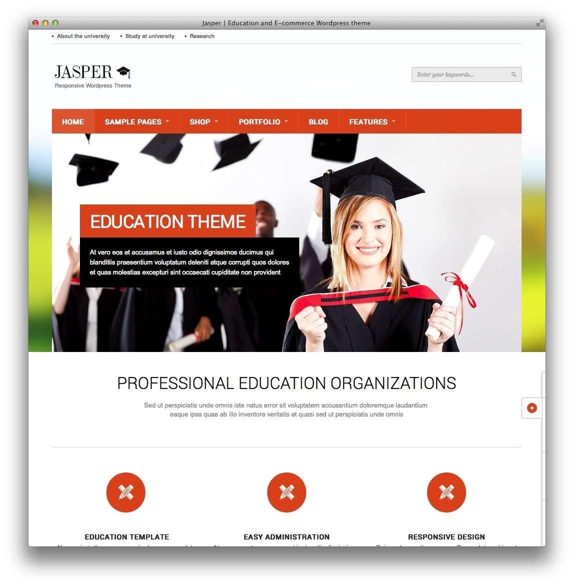 Сайт для курсов школы университета