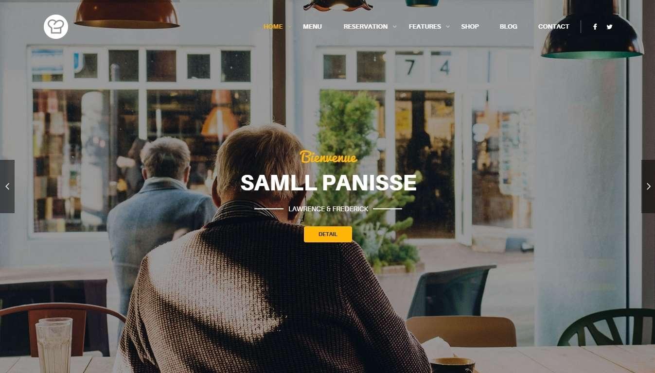 Resca WordPress тема для кофейной, ресторана или бара