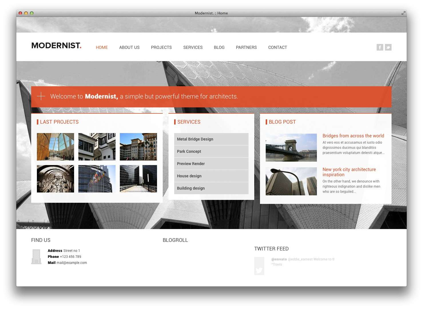 WordPress Шаблоны для архитекторов и ландшафтных дизайнеров10