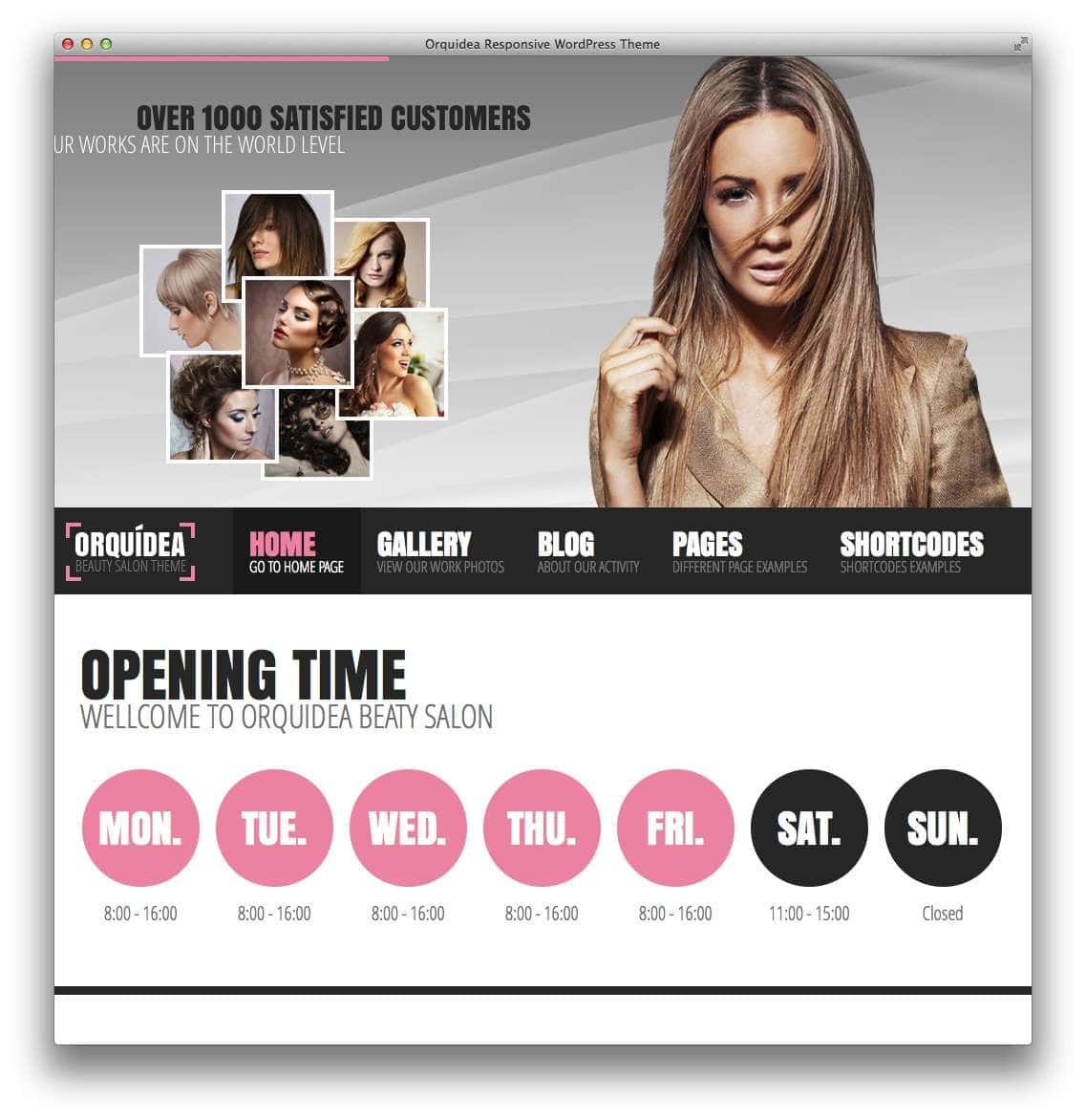 WordPress для салона красоты11